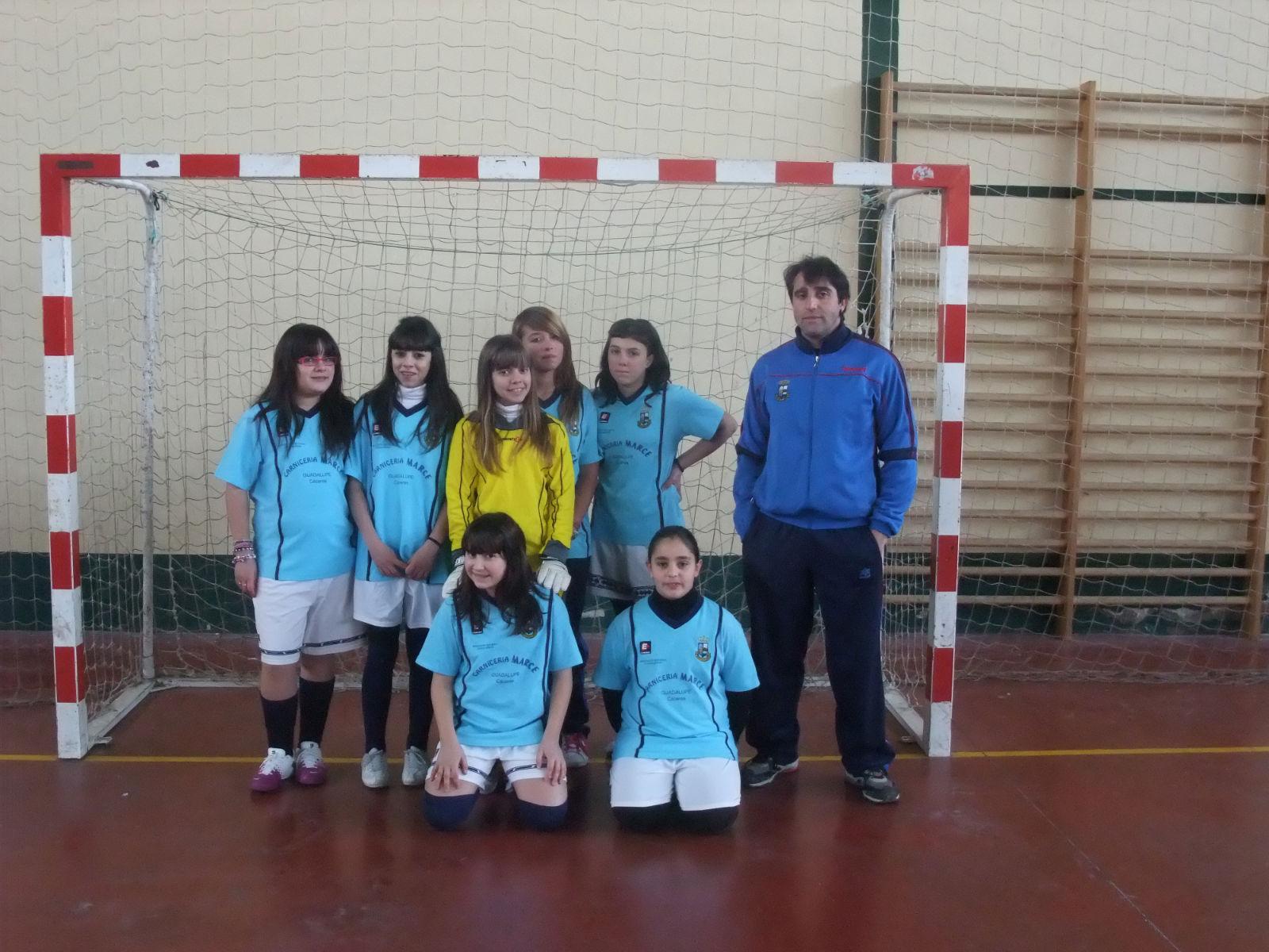 Femenino Base - Temporada 2010-2011