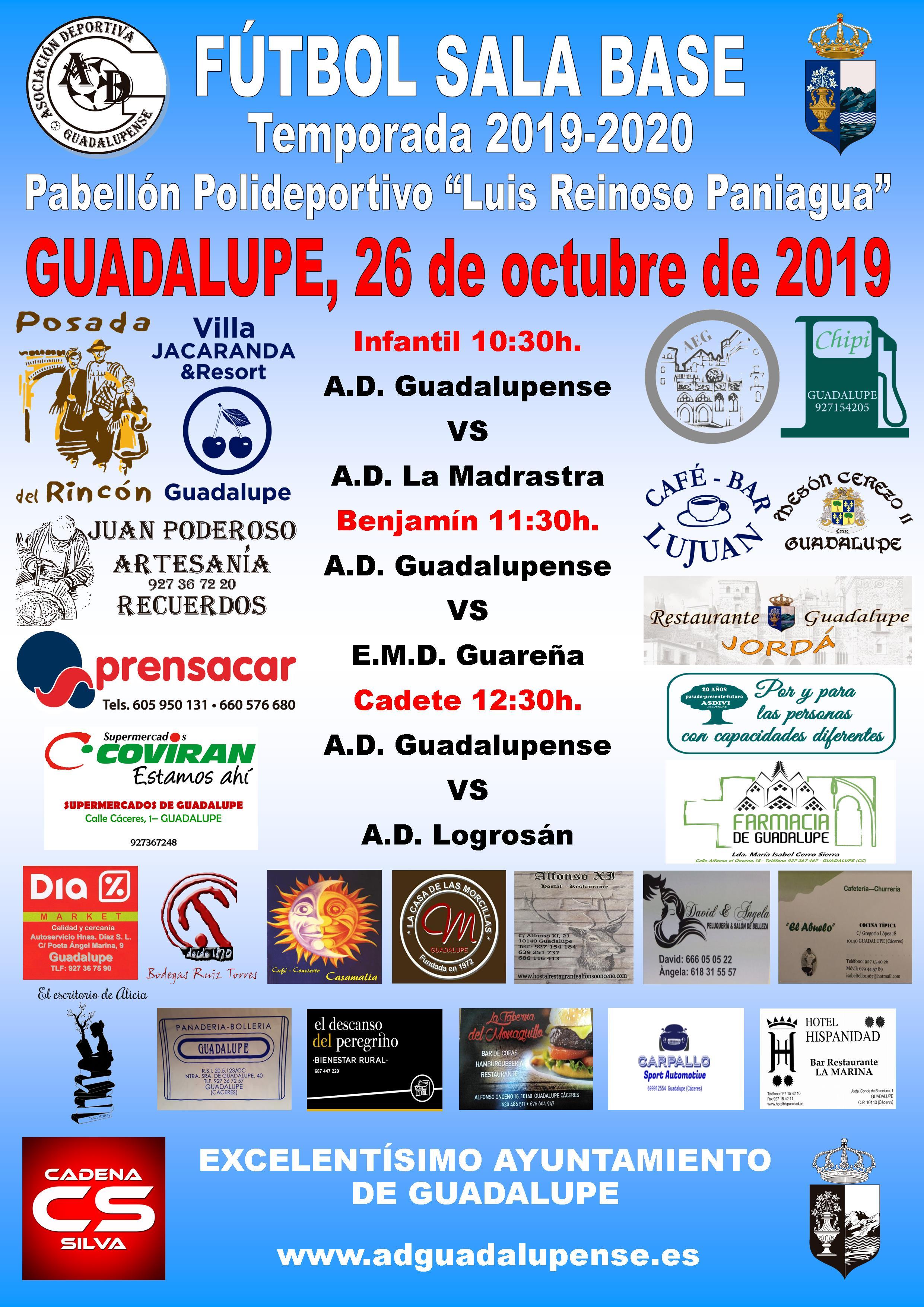 Horarios 26-10-2019
