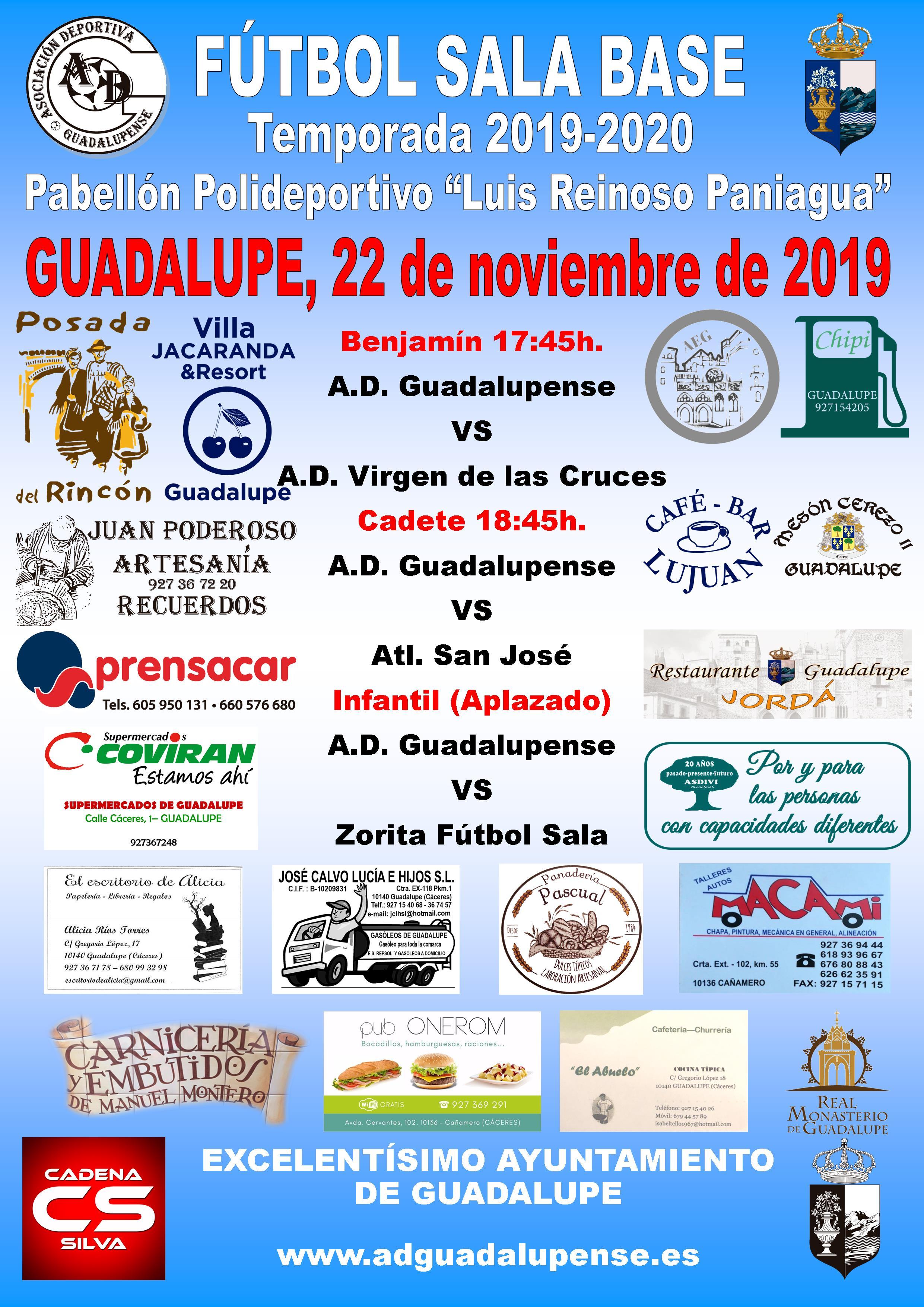 Horarios 22-11-2019