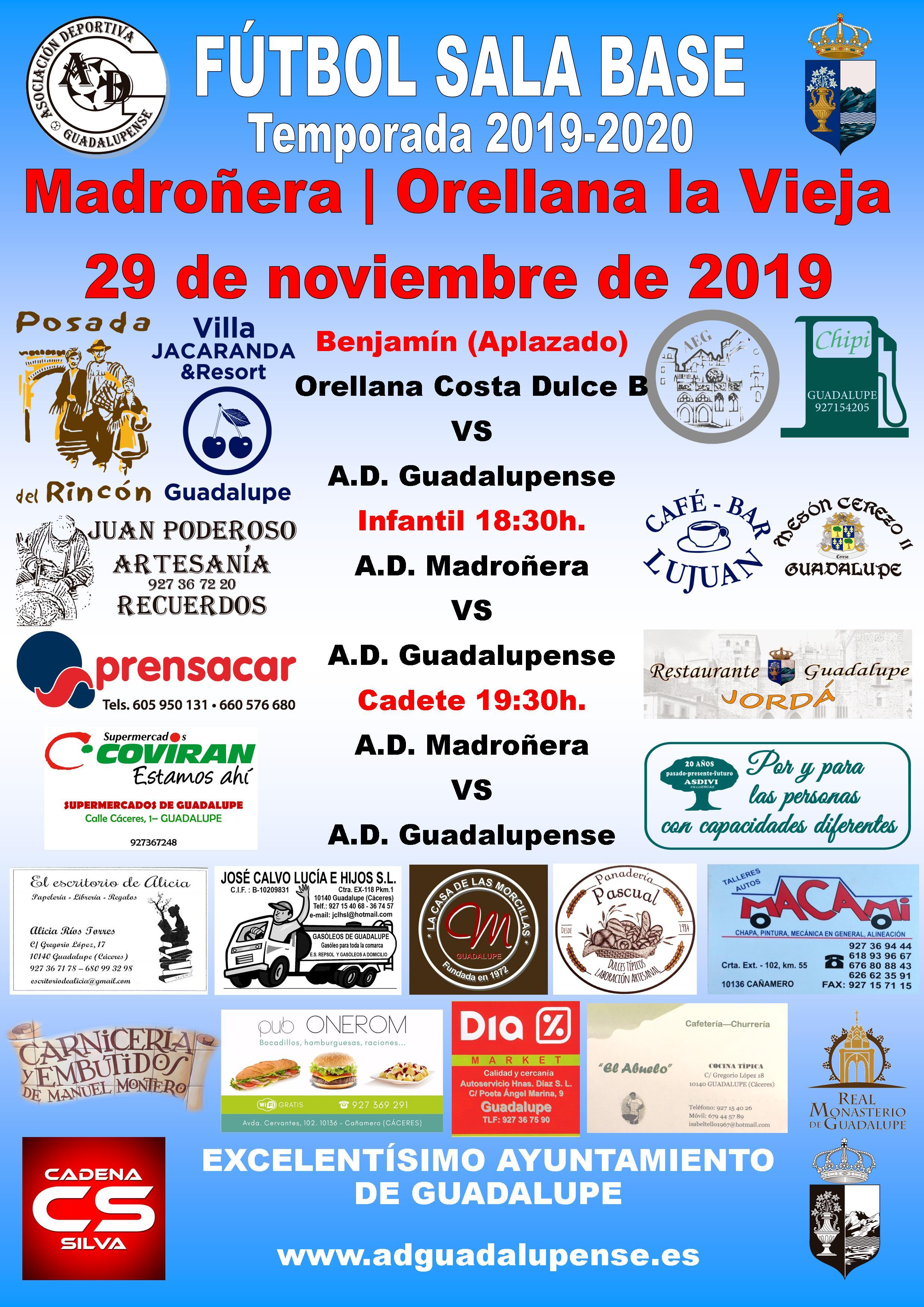 Horarios 29-11-2019