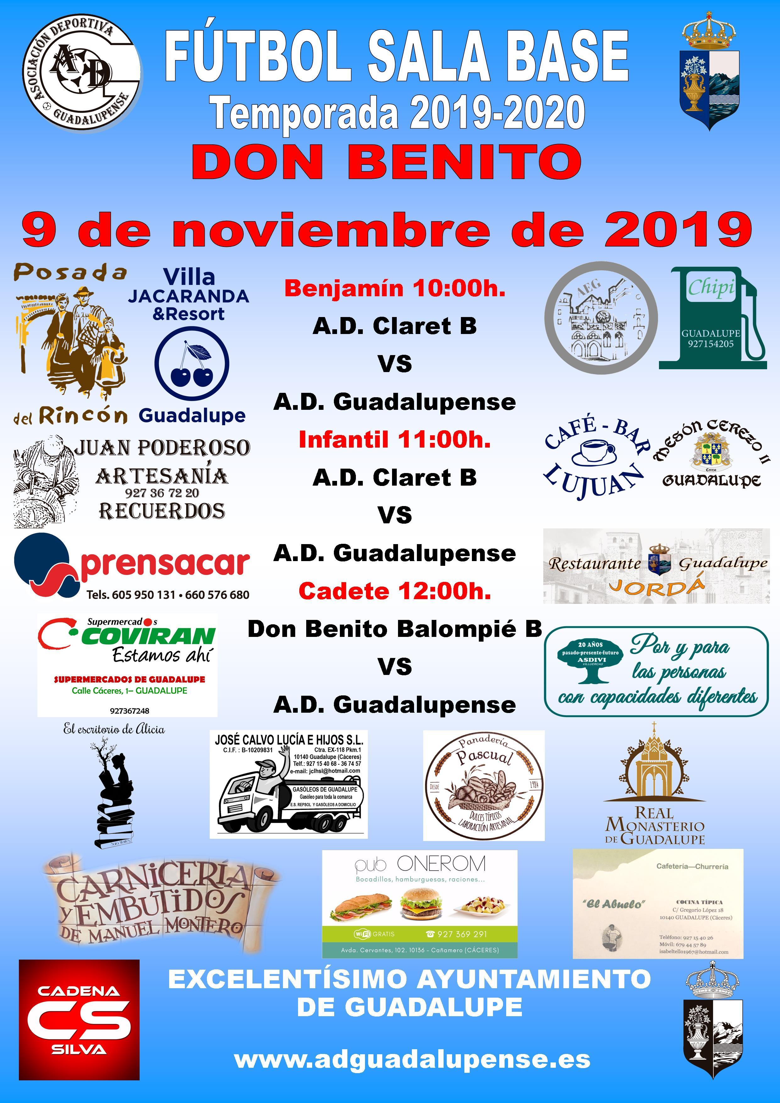 Horarios 9-11-2019