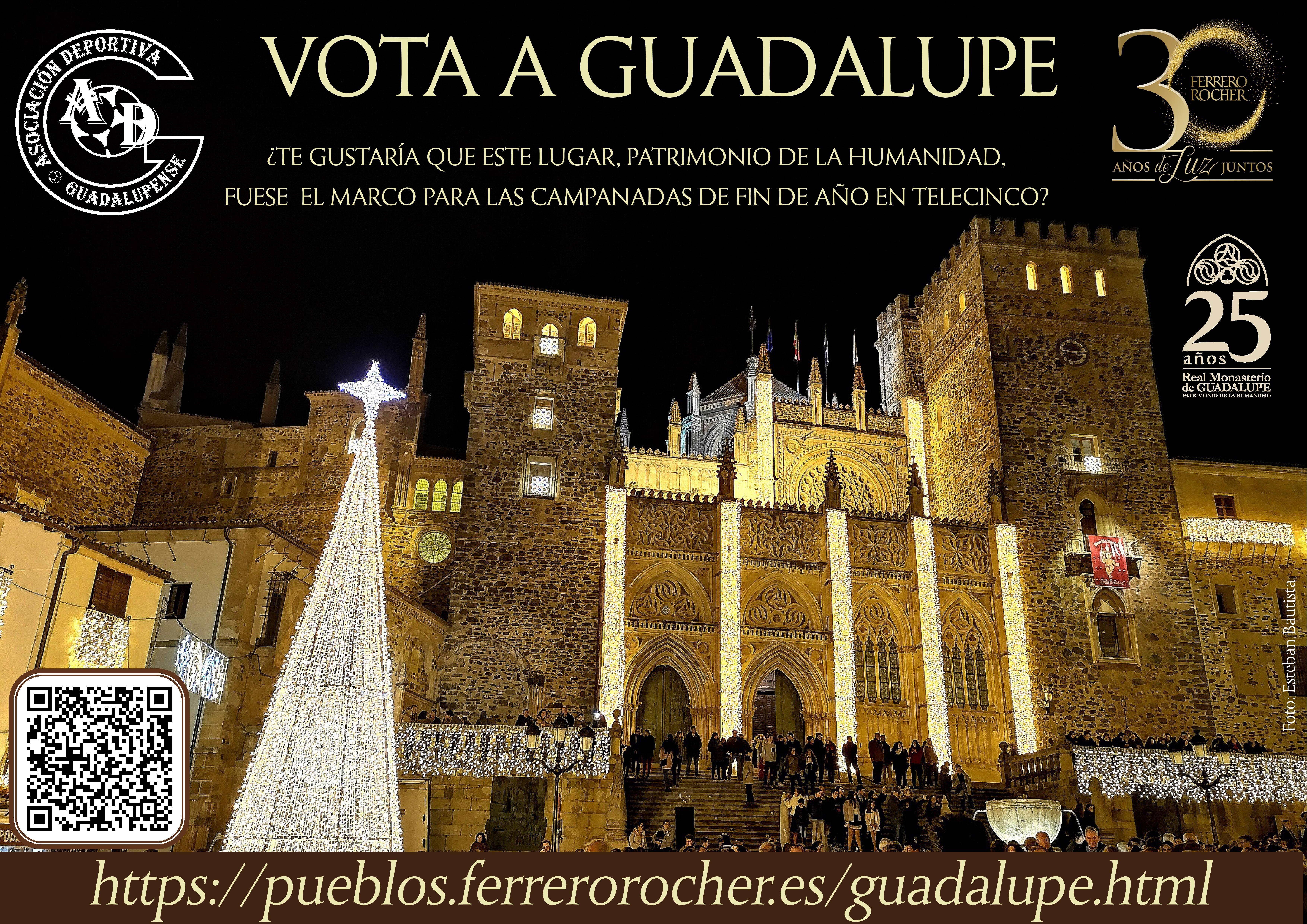 Vota a Guadalupe para que las campanadas de fin de año 2019 se retransmitan por Telecinco