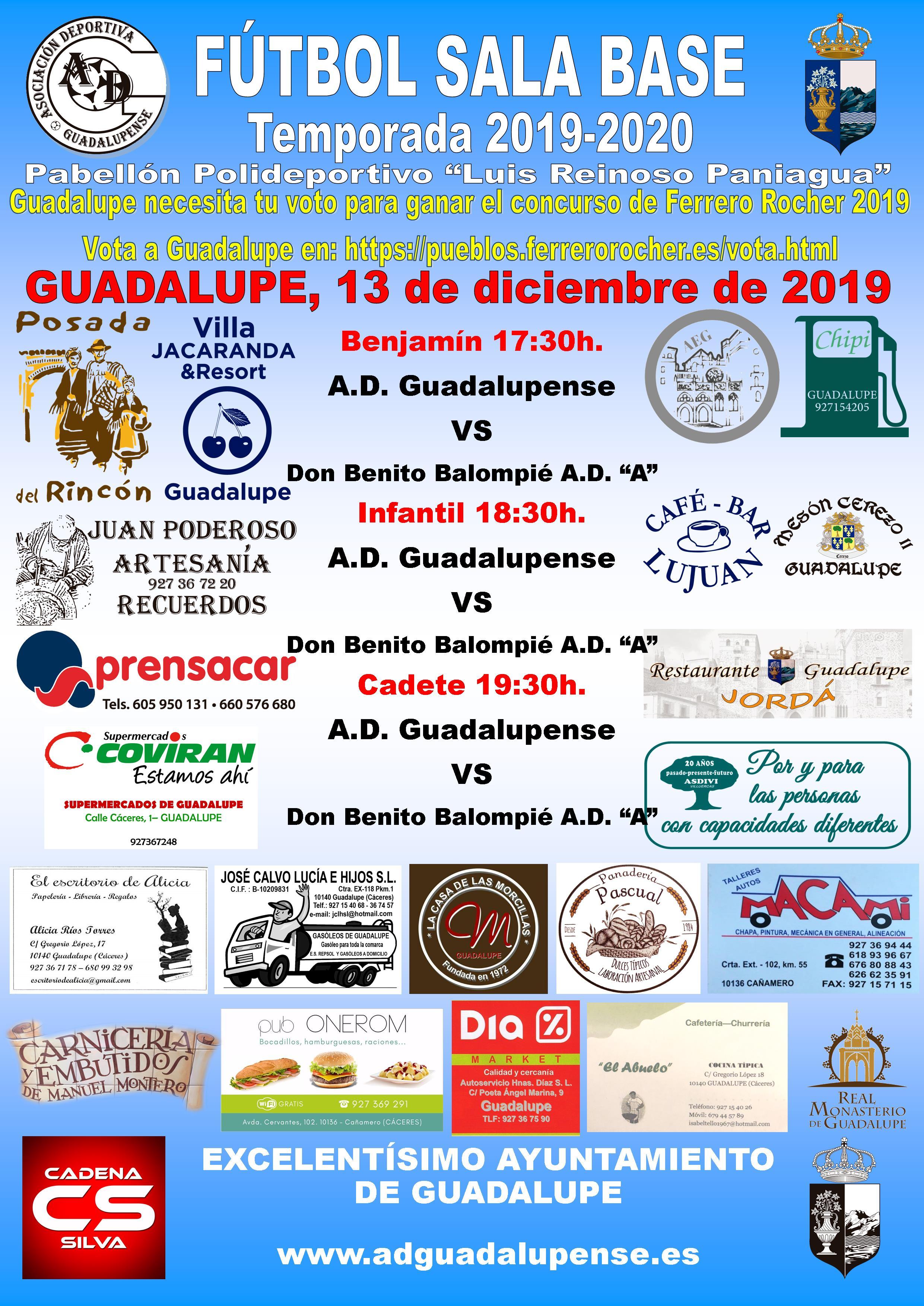Horarios 13-12-2019