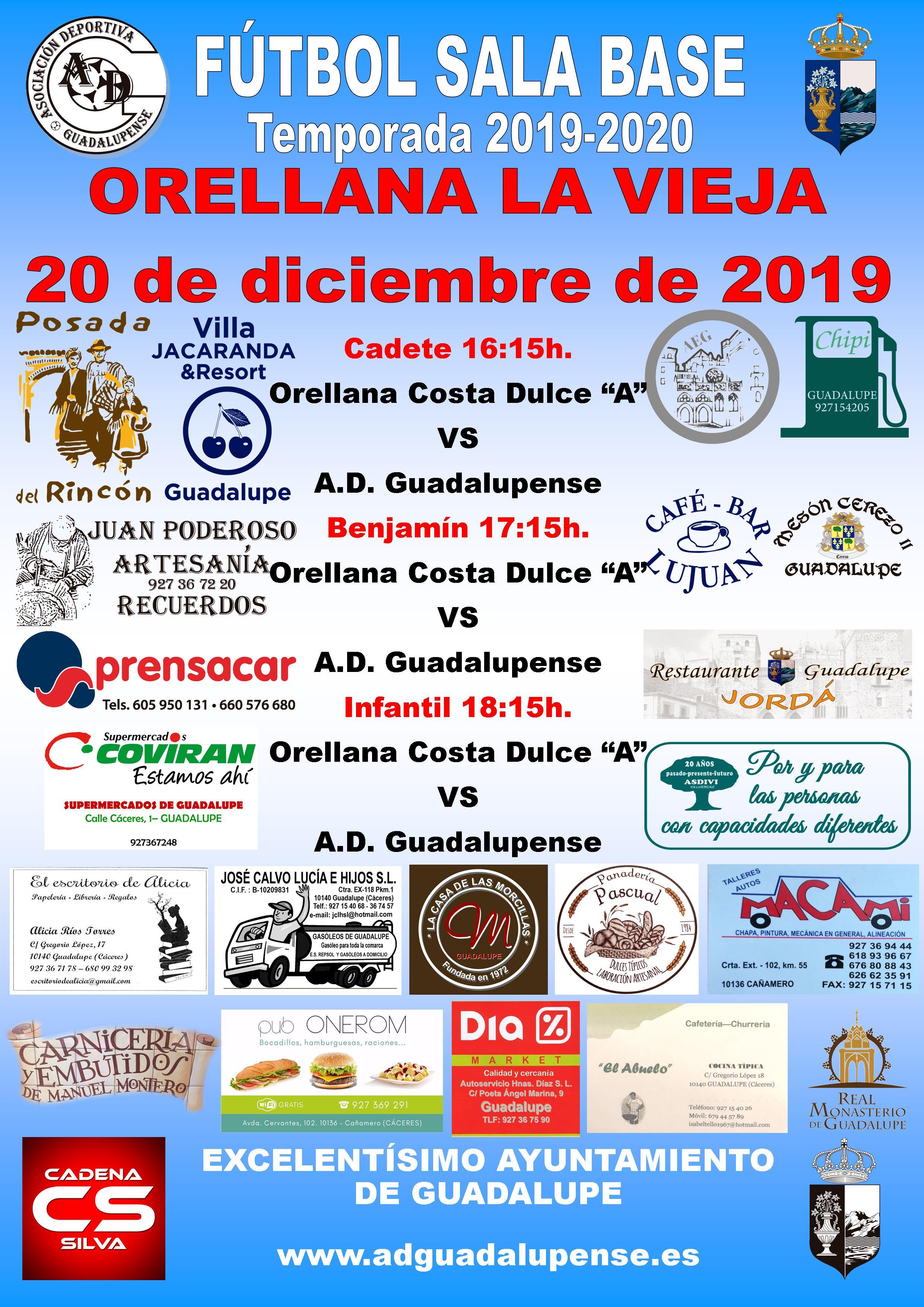 Horarios 20-12-2019