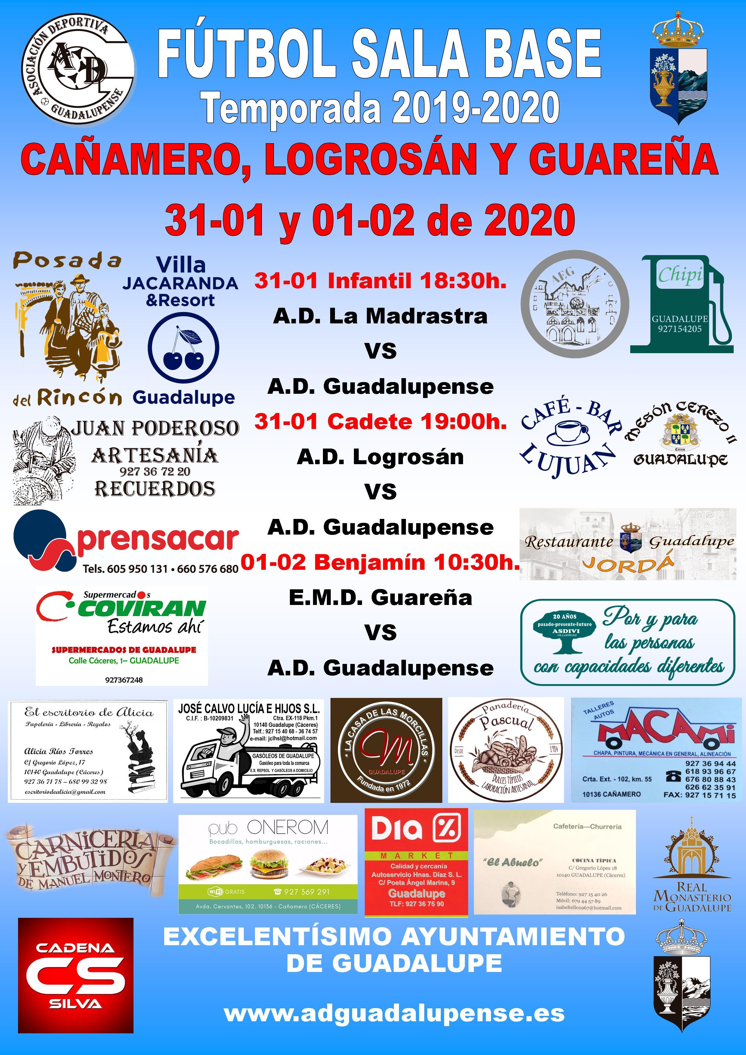 Horarios 31-01 y 01-02-2020