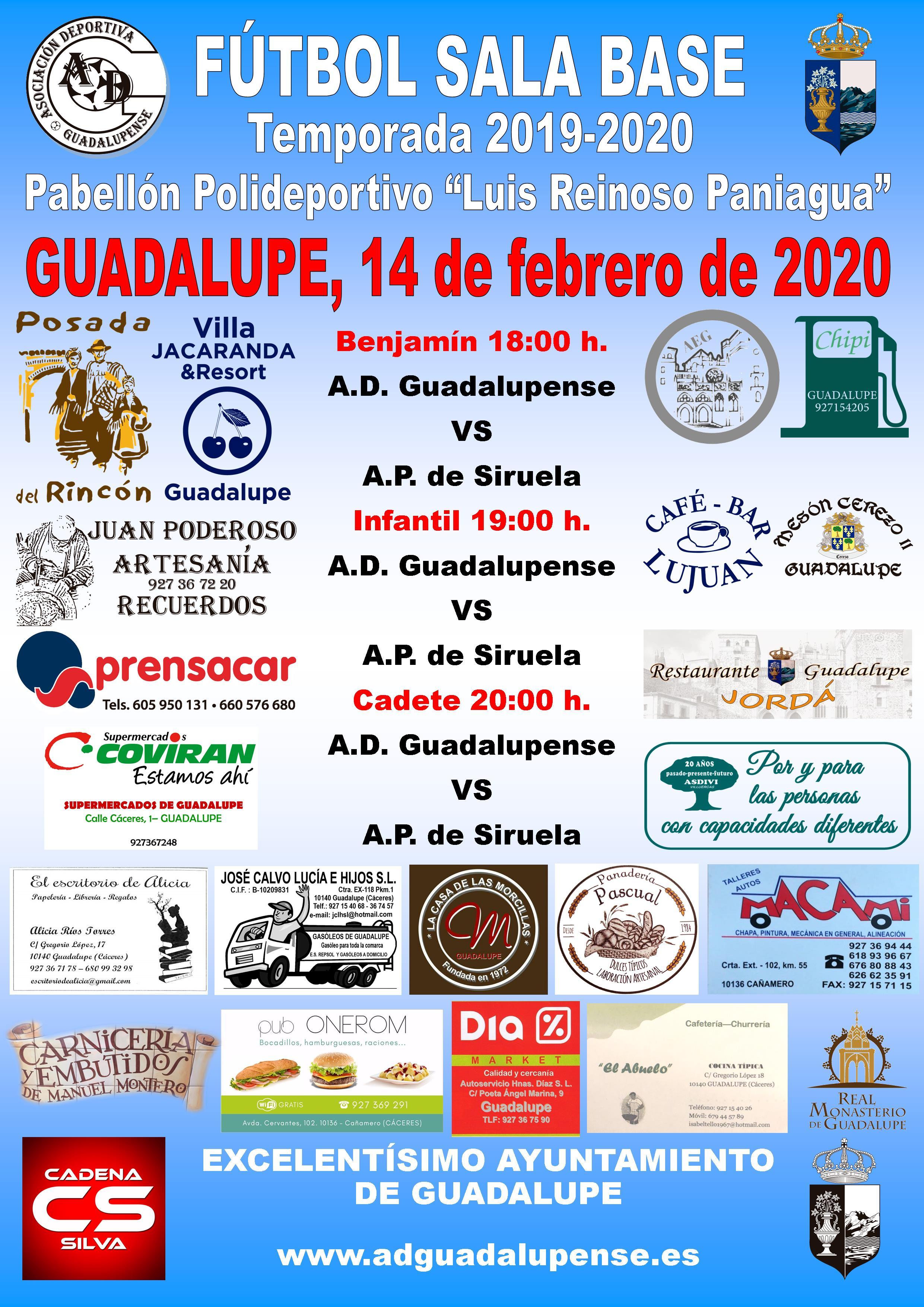 Horarios 14-02-2020