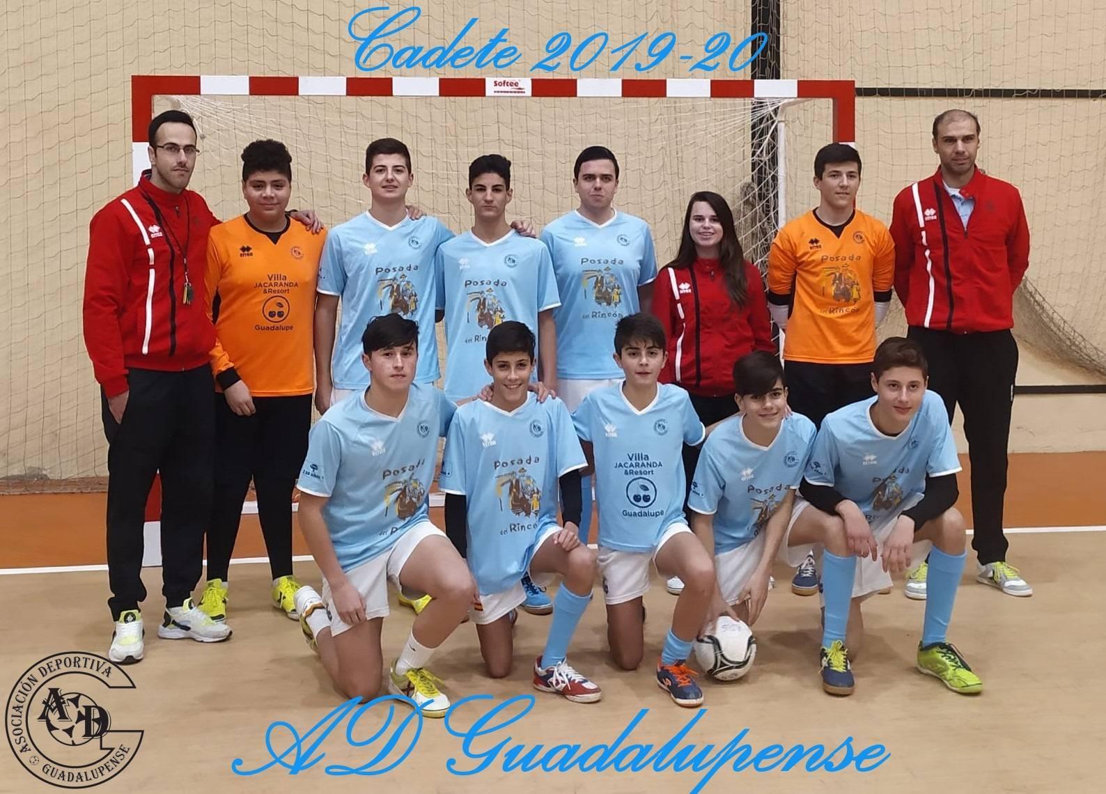 Plantilla Cadete - Temporada 2019-2020