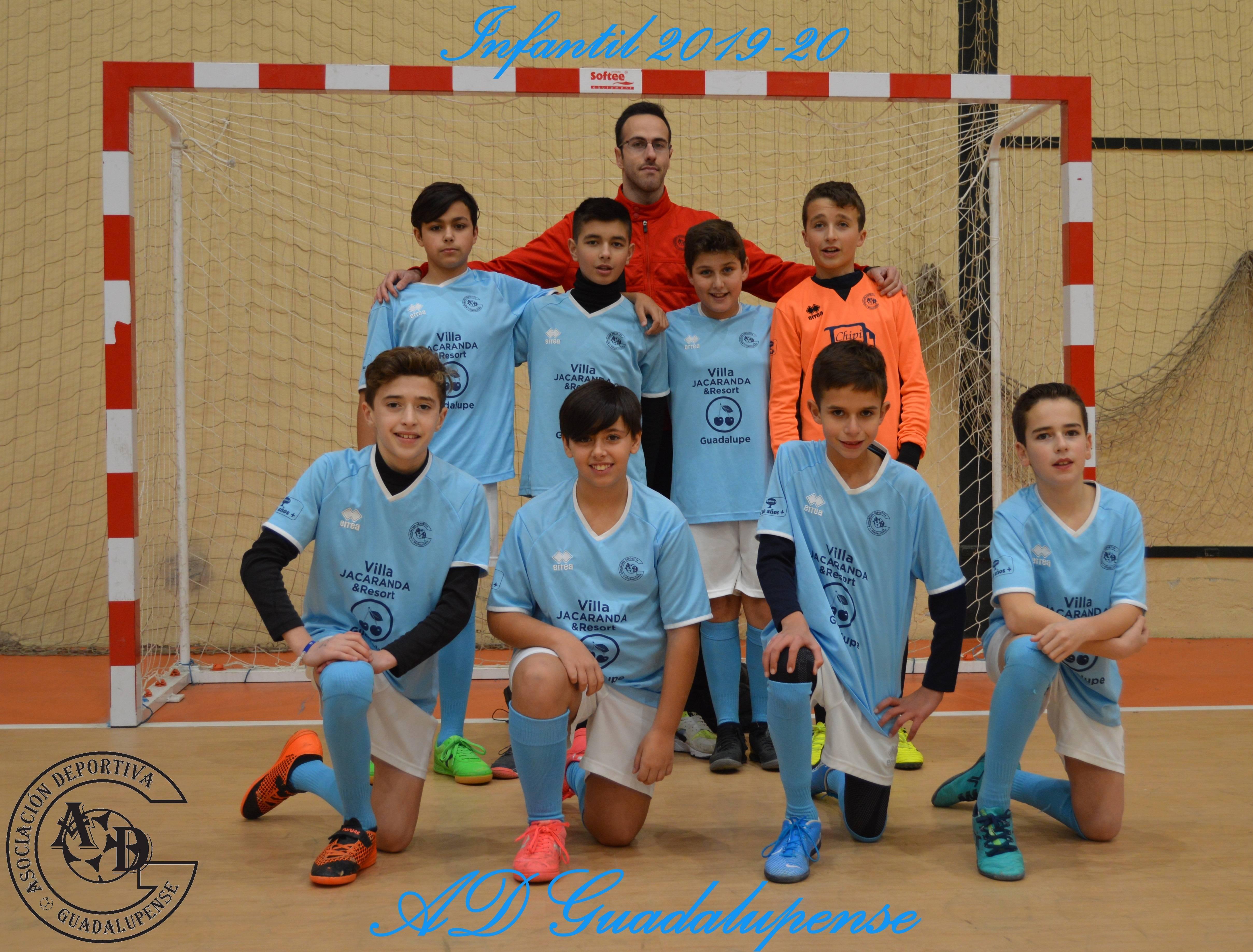 Plantilla Infantil - Temporada 2019-2020