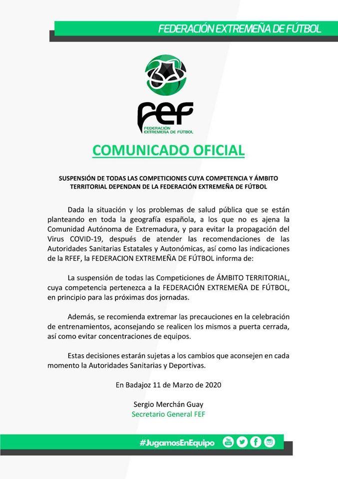 Se aplaza la competición JUDEX 2019-2020 por el coronavirus 2