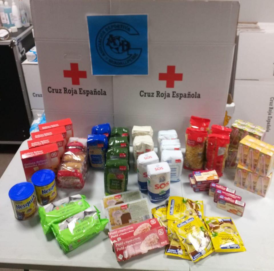 Colaboración con la Cruz Roja 2020